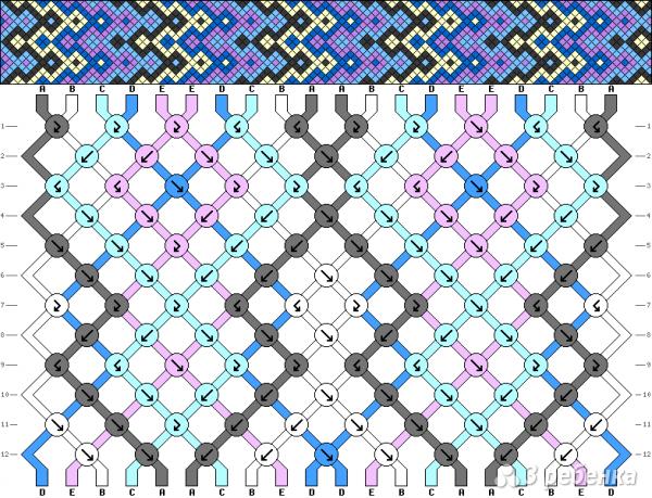 Схема фенечки 10929