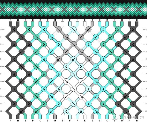 Схема фенечки 10044