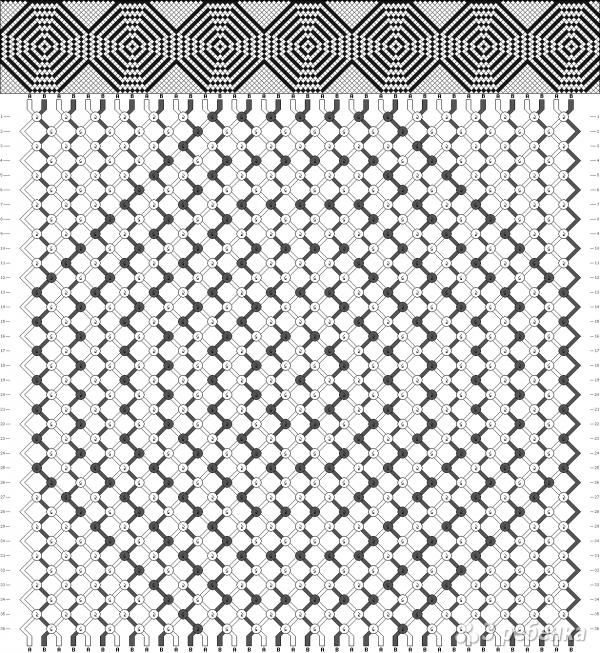 Схема фенечки 11118