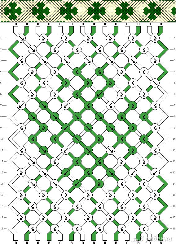 Схема фенечки 11139