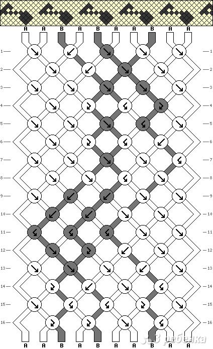 Схема фенечки 10479