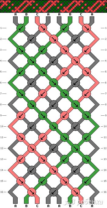 Схема фенечки 10873