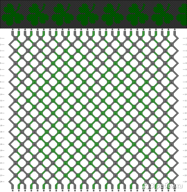 Схема фенечки 9748