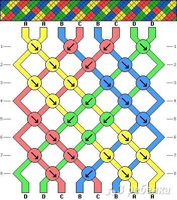 Схема фенечки 11215