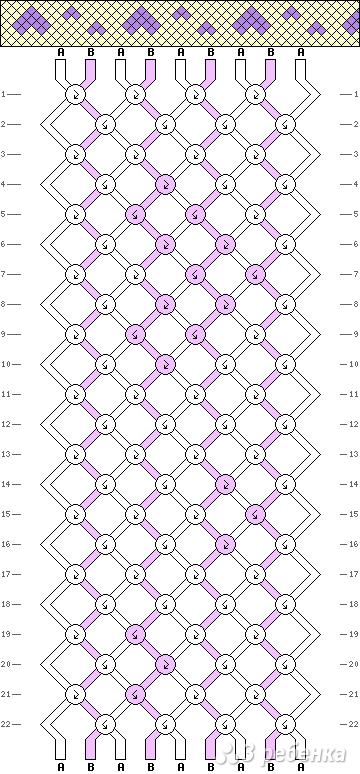 Схема фенечки 10906