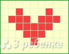 Схема фенечки прямым плетением 10582