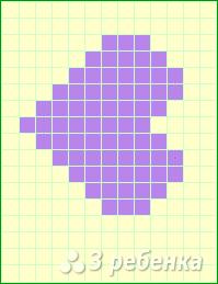 Схема фенечки прямым плетением 10514
