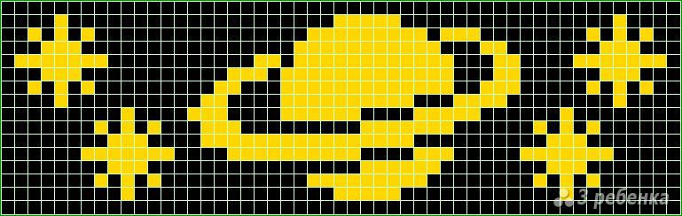 Фенечки-схемы прямого плетения