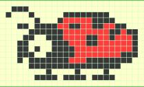Схема фенечки 10144