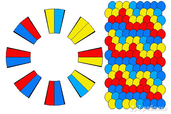 Схема фенечки кумихимо 12090