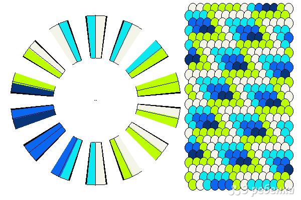 Схема фенечки кумихимо 11679