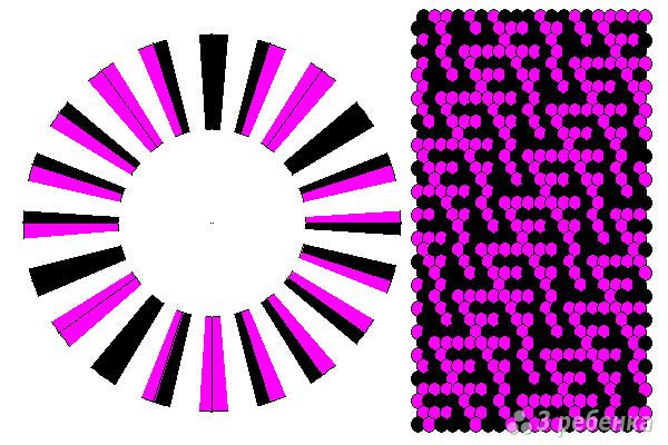 Схема фенечки кумихимо 11671