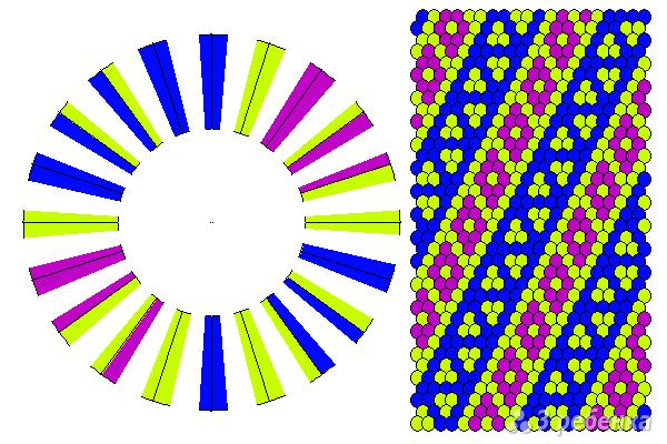 Схема фенечки кумихимо 11665