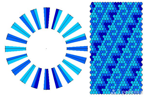 Схема фенечки кумихимо 11596