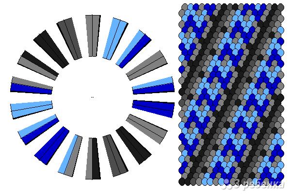 Схема фенечки кумихимо 11590