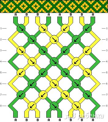 Схема фенечки 12508