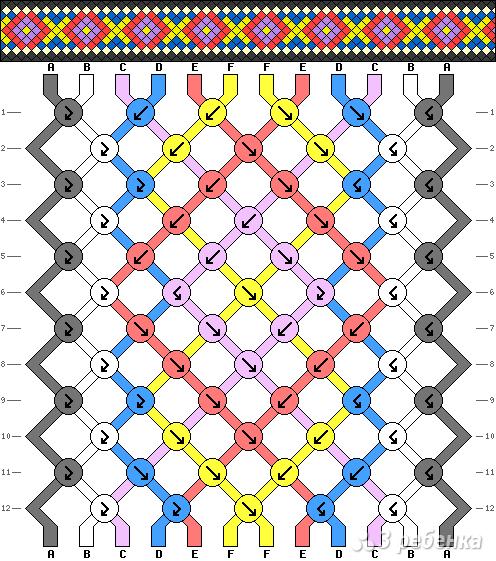 Схема фенечки 12571