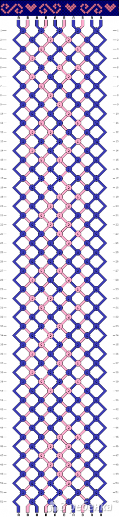 Схема фенечки 12542