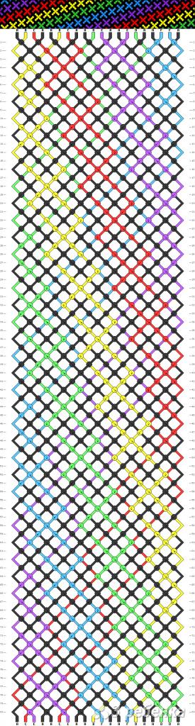 Схема фенечки 12805