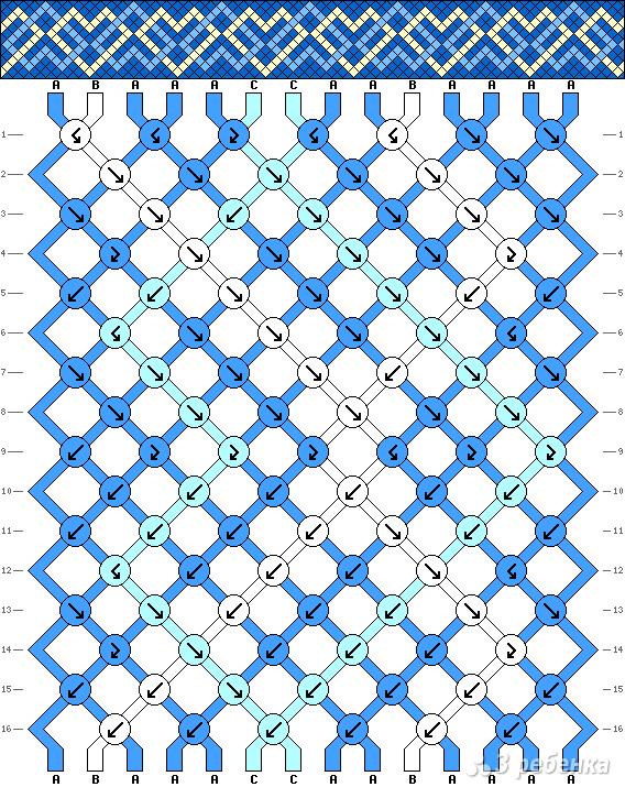 Схема фенечки 12813