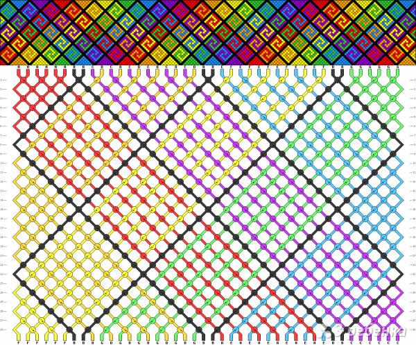 Схема фенечки 12797