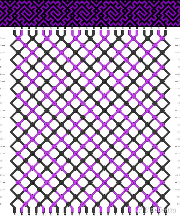 Схема фенечки 12551