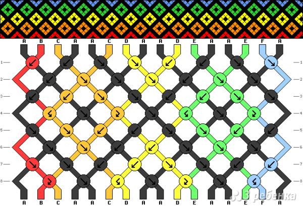 Схема фенечки 12616