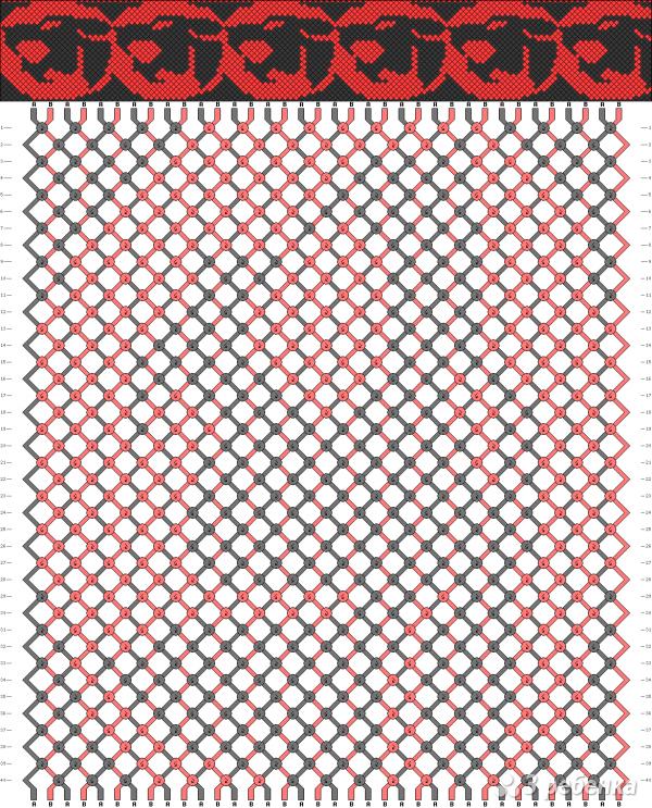 Схема фенечки 12735