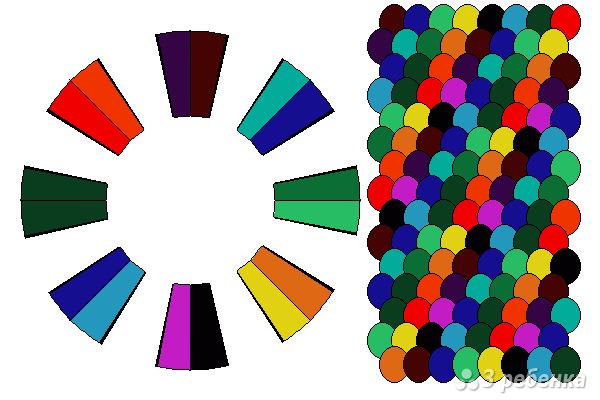 Схема фенечки кумихимо 12234