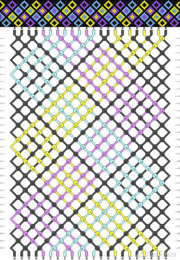 Схема фенечки 12837