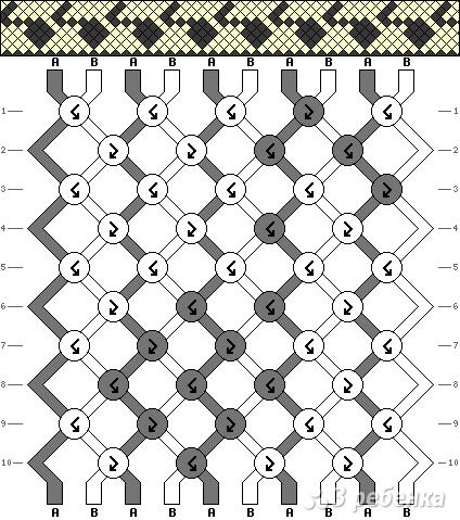 Схема фенечки 12592