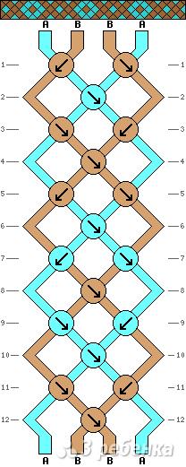 Схема фенечки 12563
