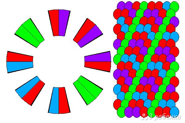 Схема фенечки кумихимо 12210