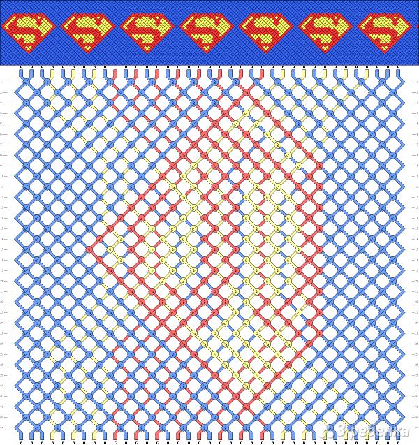 Схема фенечки 12516