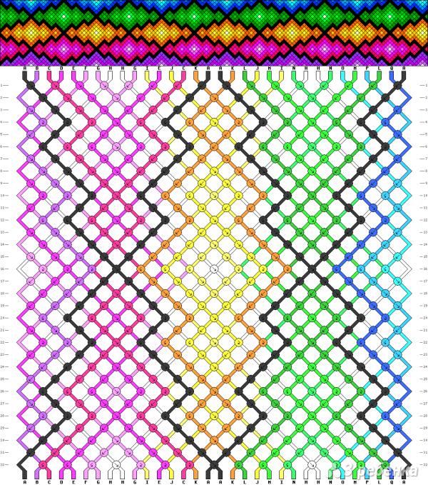 Схема фенечки 12608