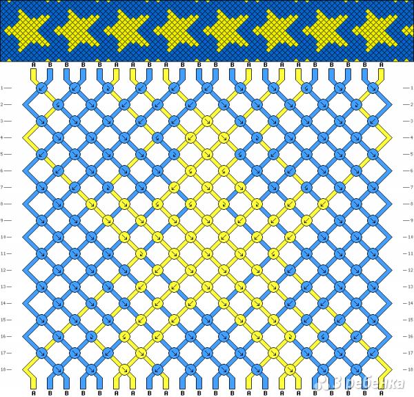 Схема фенечки 12686