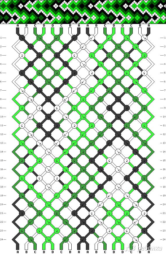 Схема фенечки 12497