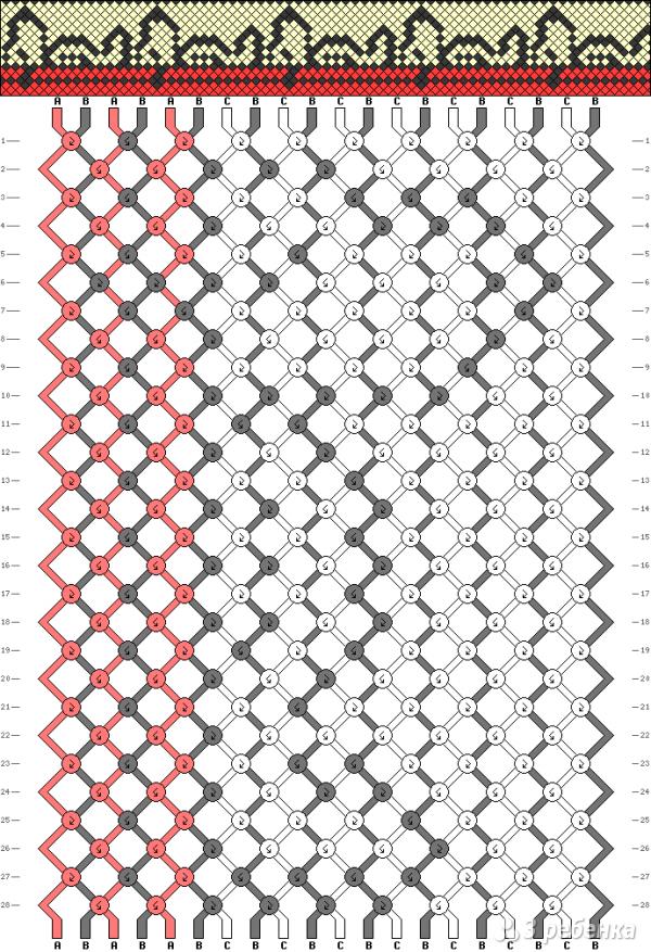 Схема фенечки 12790