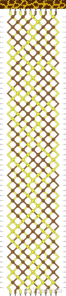 Схема фенечки 12697