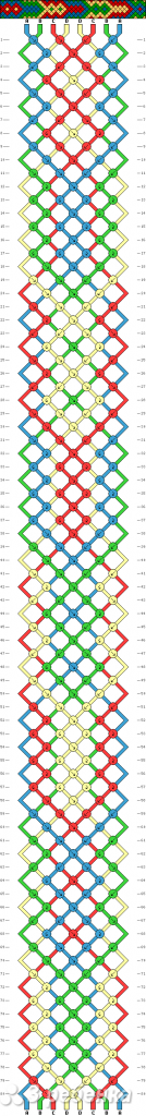 Схема фенечки 12691