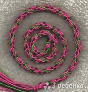 Схема фенечки кумихимо 12410