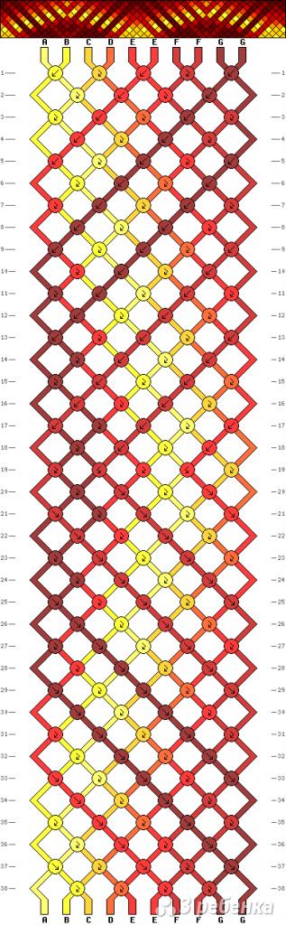 Схема фенечки 12782