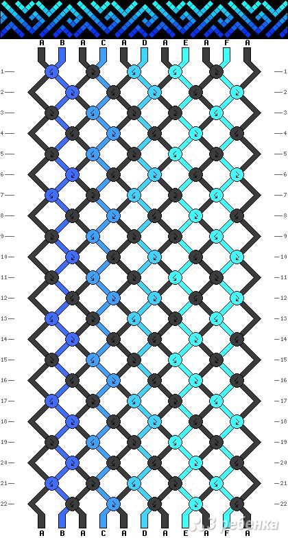 Схема фенечки 12472