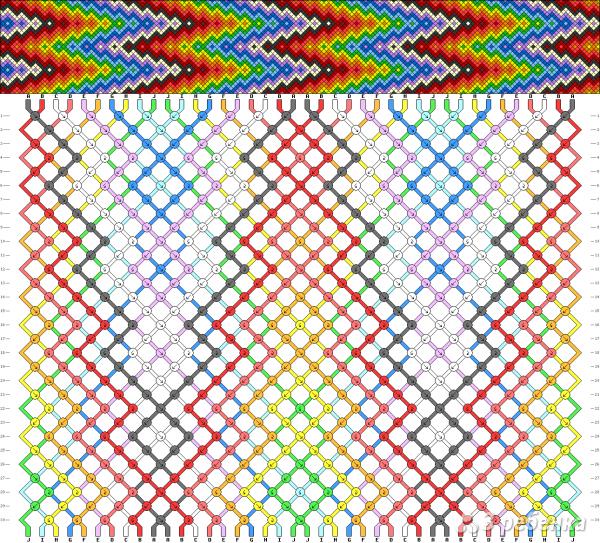 Схема фенечки 12576