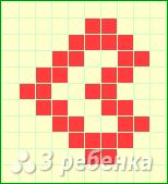 Схема фенечки прямым плетением 12864