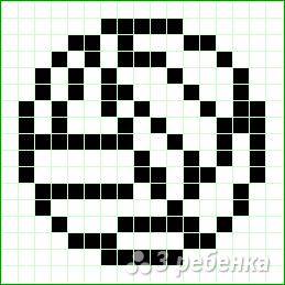 Схема фенечки прямым плетением 12955
