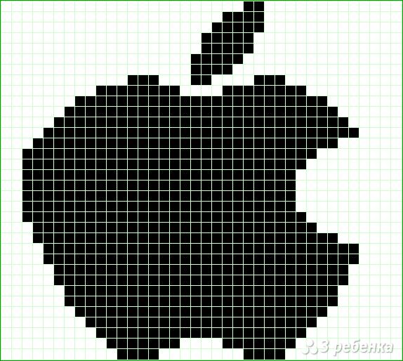Схема фенечки прямым плетением 12871