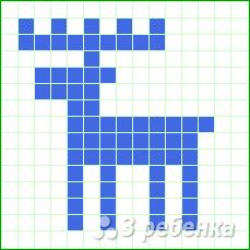 Схема фенечки прямым плетением 12883