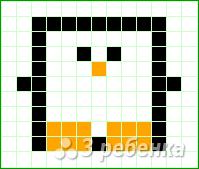 Схема фенечки прямым плетением 12914