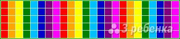 Схема фенечки прямым плетением 13001